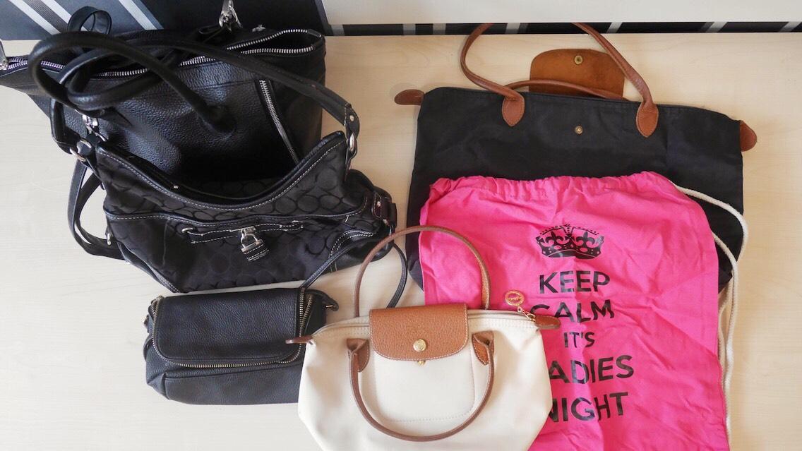 Minimalismus- Wie viele Taschen braucht ein Mensch? Handtaschen