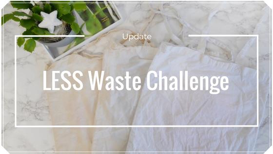 Update Less Waste Challenge- die ersten Wochen