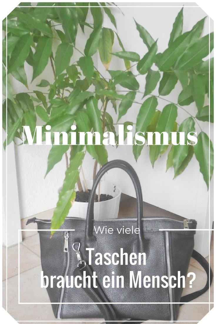 Minimalismus: Wie viele Taschen braucht ein Mensch?