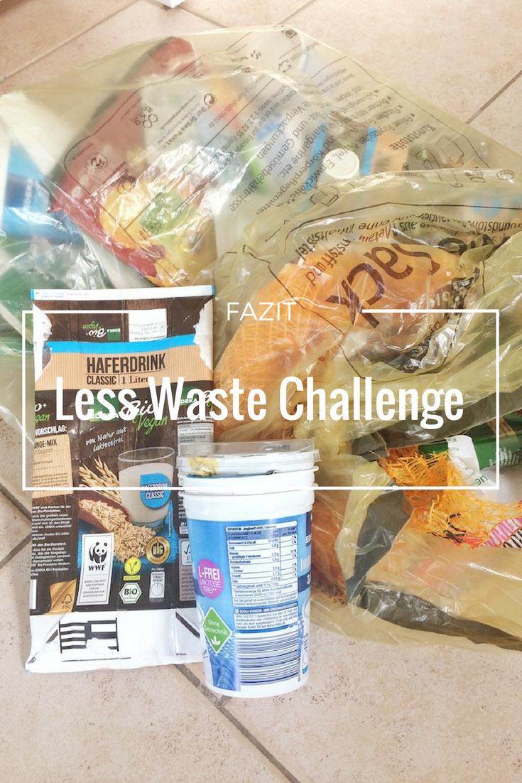 Less Waste Challenge Februar- Mein Fazit