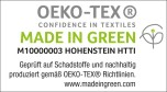 Labels und Zertifizierungen Fair Fashion- made in green