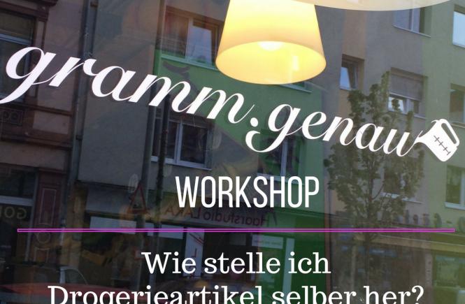 Beitragsbild gramm.genau workshop