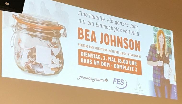 Zero Waste Home: Wie ein Vortrag von Bea Johnson dein Leben verändern kann