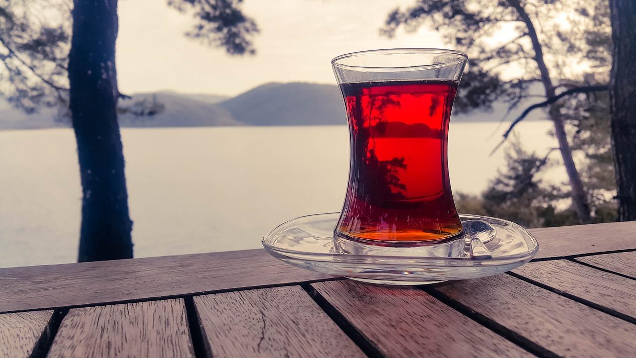 Was war los? Entschleunigung- Tasse Tee trinken am See