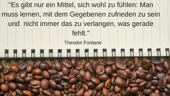 11 inspirierende Minimalismus Zitate: Theodor Fontane