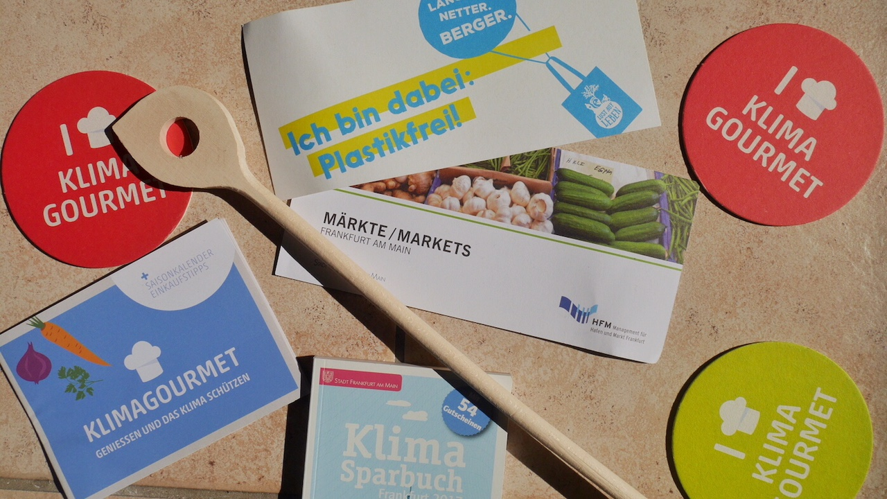 Klimagourmet-Genuss-Spaziergang Frankfurt: Inhalt Jutebeutel