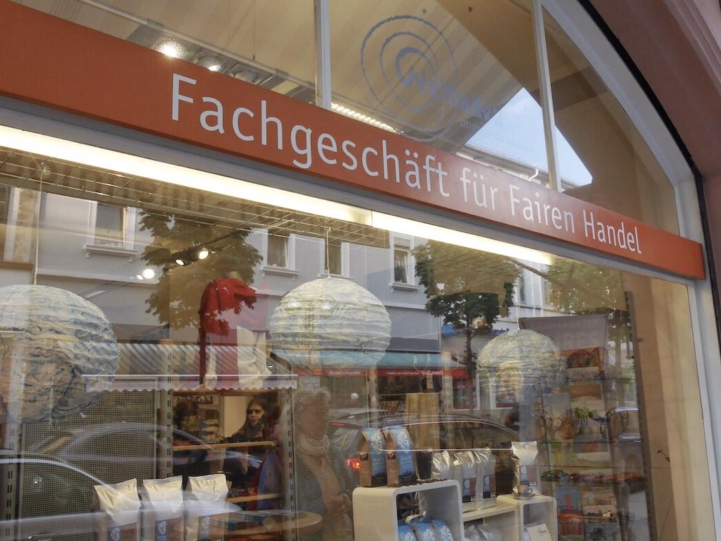 Klimagourmet-Genuss-Spaziergang Frankfurt: Schaufenster Weltladen
