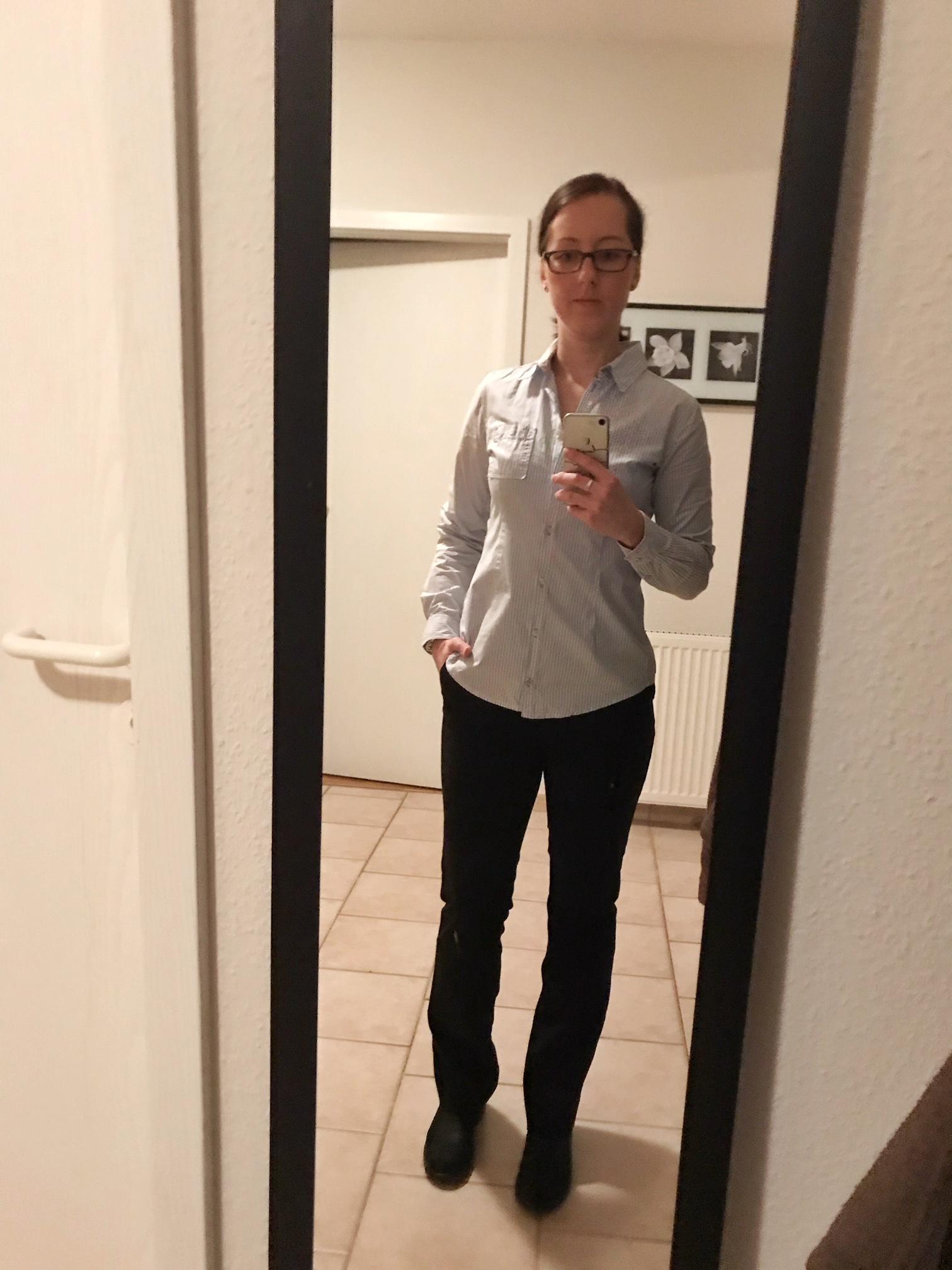 Kleiderschrank- Experiment: Woche 1 und 2_5. Februar