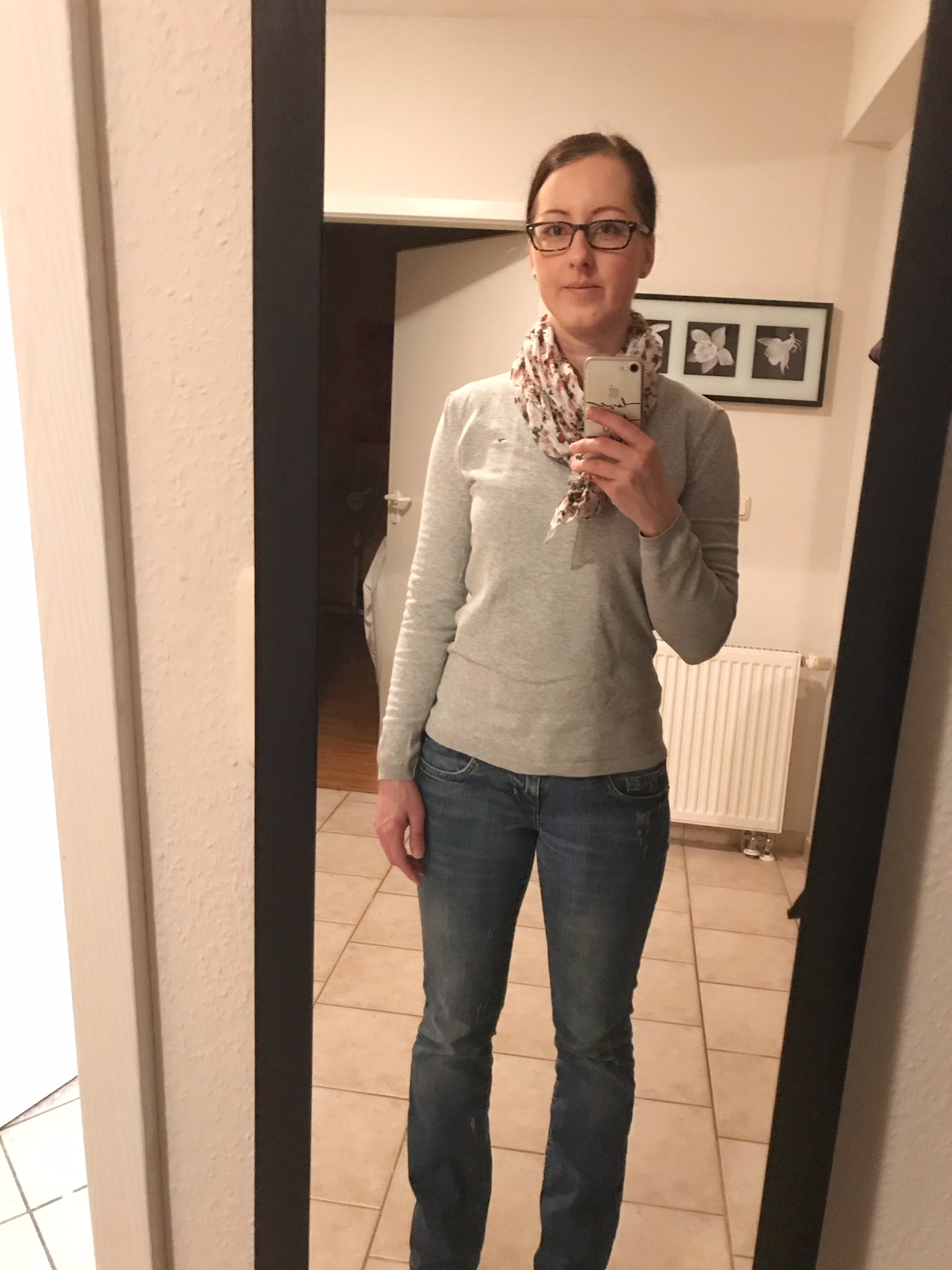 Kleiderschrank- Experiment: Woche 1 und 2_Dienstag 13.Februar