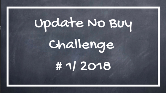 Update No Buy Challenge 01/2018