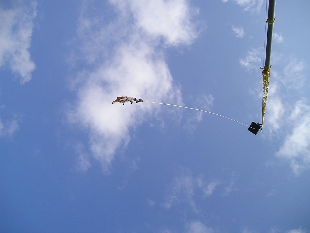 etwas verrücktes tun_bungee jumping