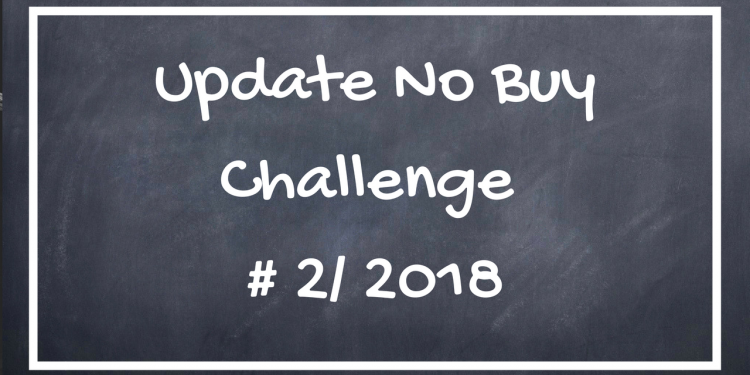 Update No Buy Challenge 02/2018