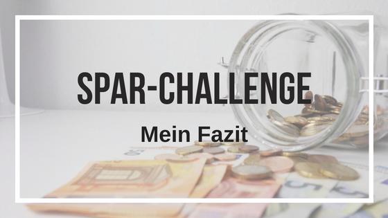 Spar-Challenge: Mein Fazit