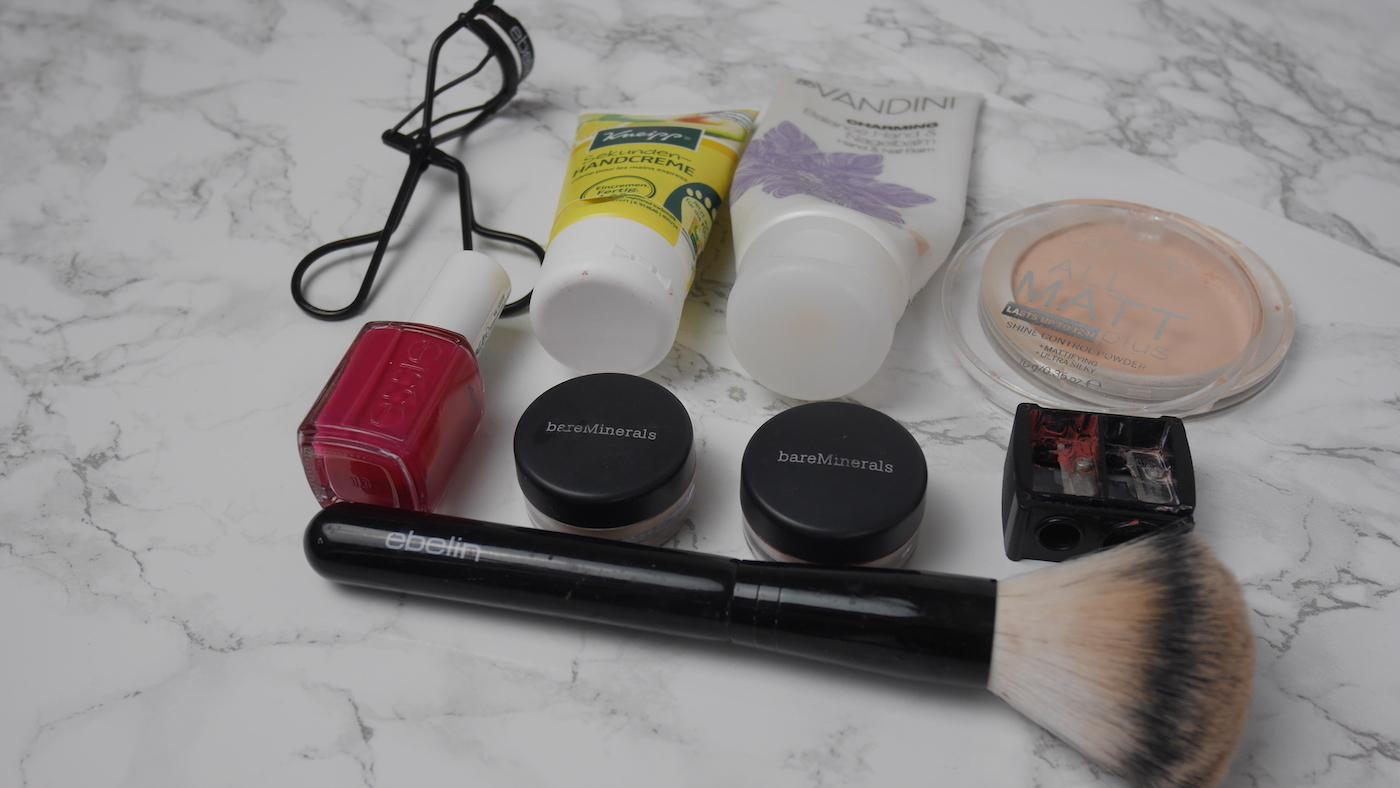 Update No Buy Challenge Q3/2018Aufgebrauchte und ausgemistete Kosmetikprodukte