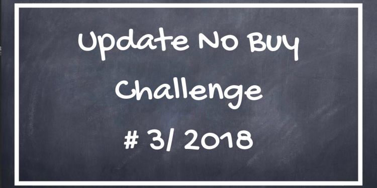 Update No Buy Challenge Q3/2018