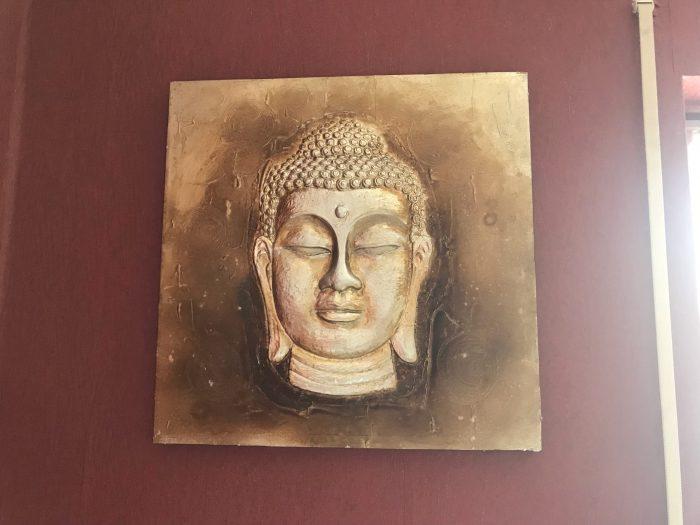 Dekoration im Schlafzimmer -  Buddha Bild