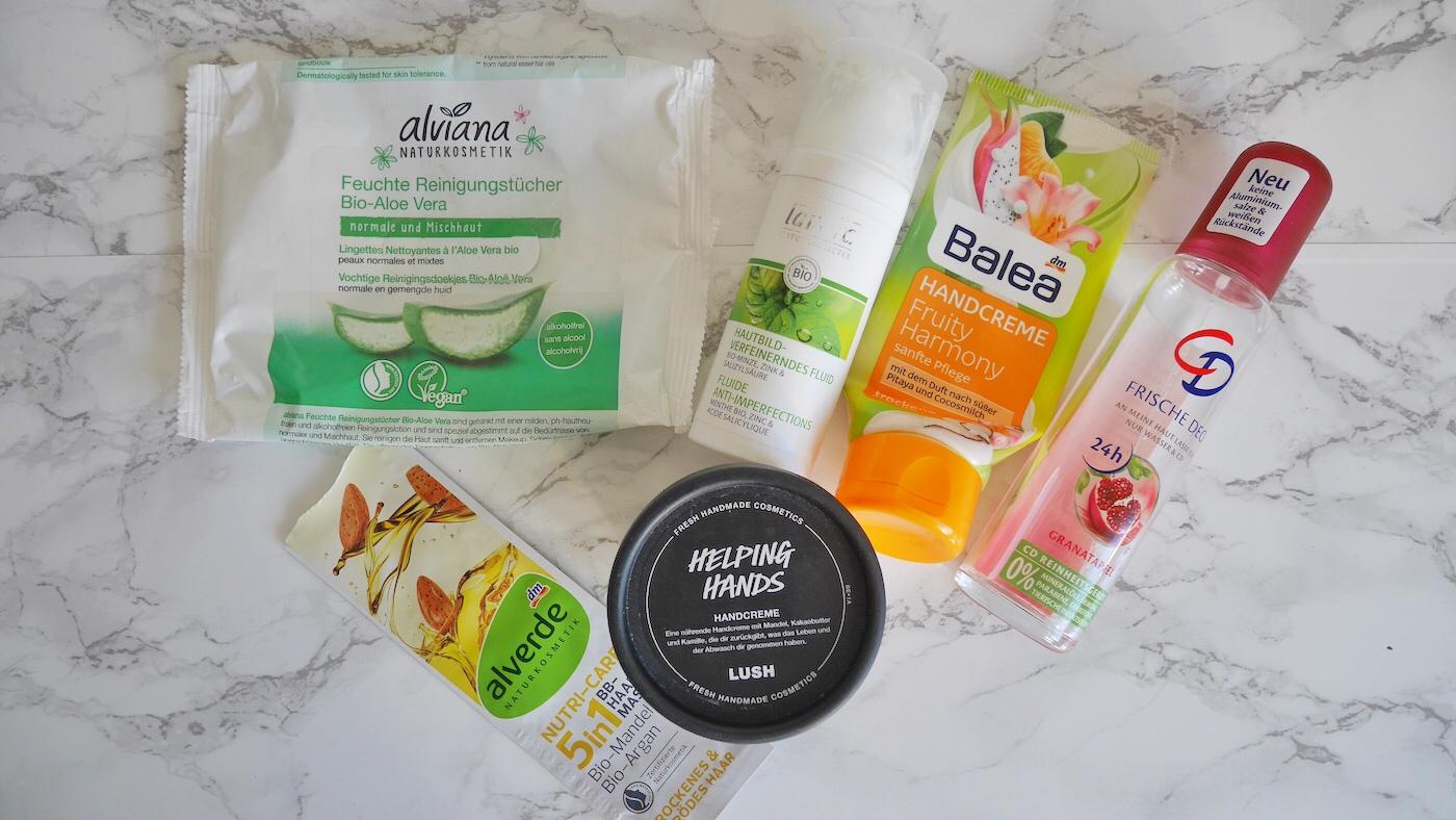 Aufgebrauchte Kosmetik Q2/ 2019 No Buy Challenge