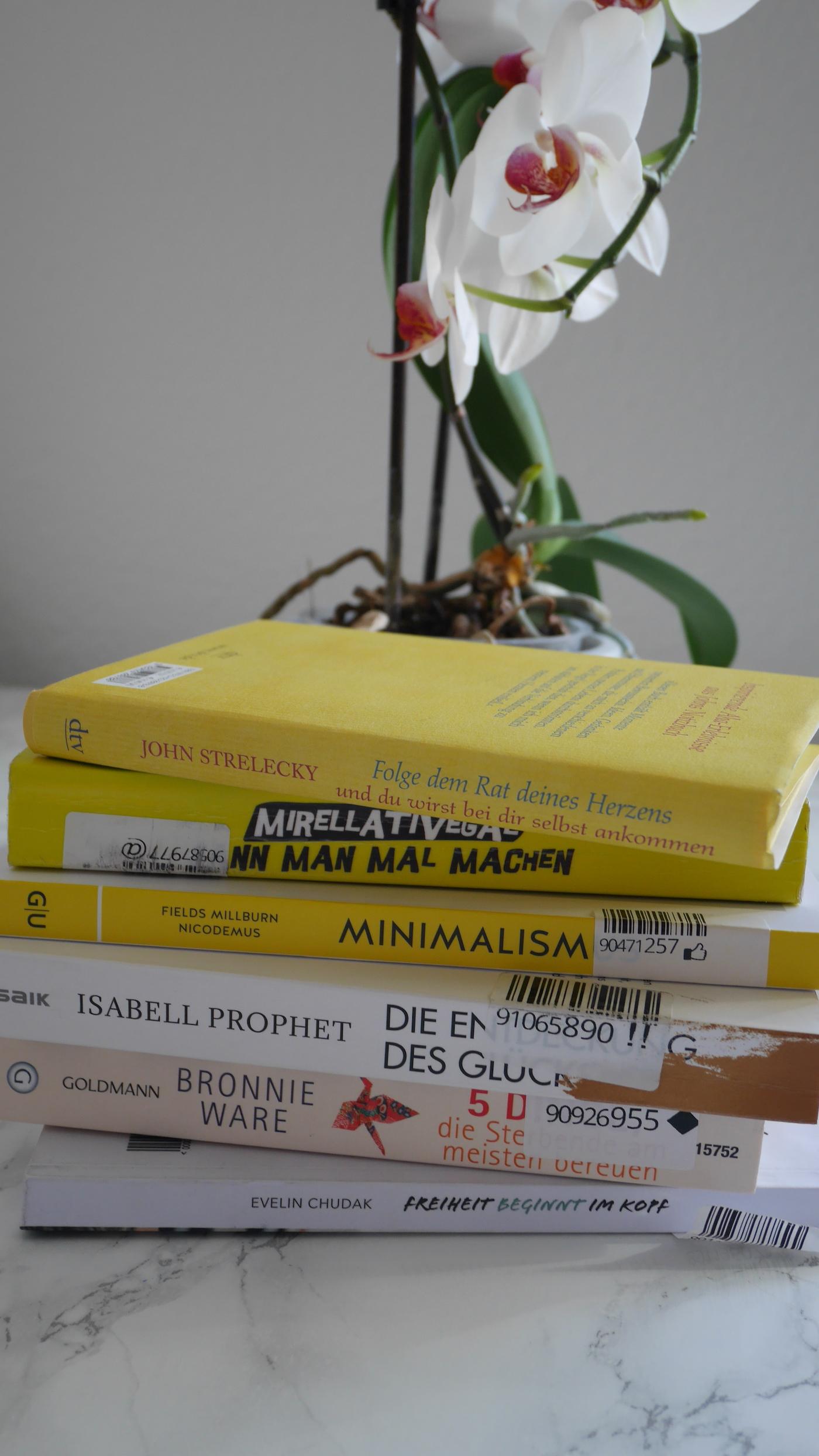 Gekaufte Bücher während der No Buy Challenge in Q2/2019