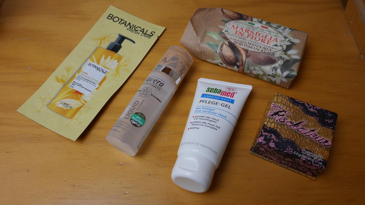 Aufgebrauchte Beauty- und Hygieneprodukte No Buy Challenge