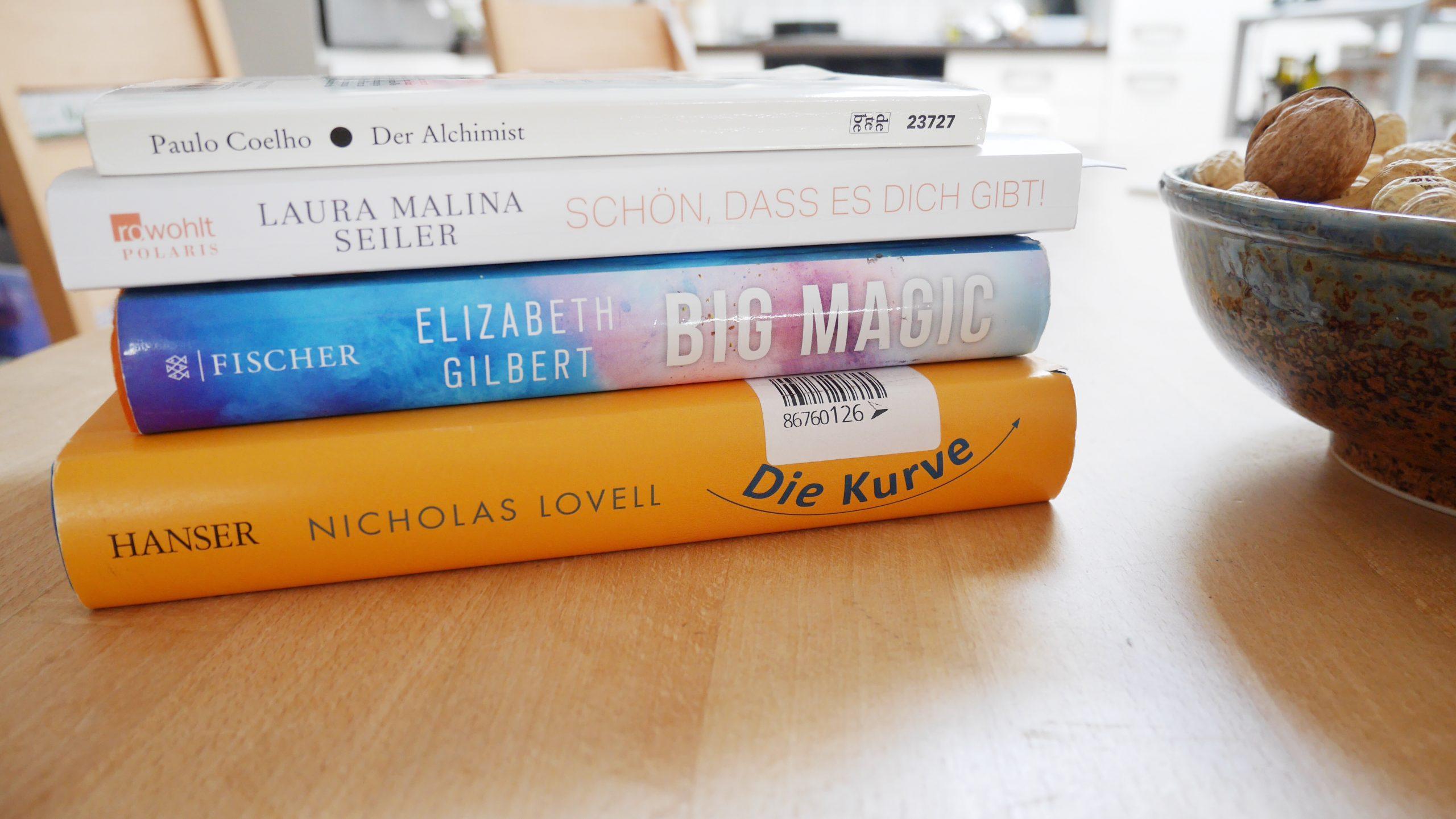 Gekaufte Bücher Low Buy Challenge Q1/2020