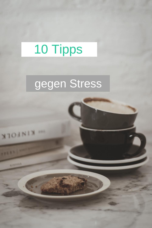 10 Ideen, was du bei akuten Stress tun kannst
