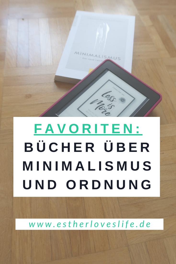Favoriten Bücher Minimalismus Ordnung Aufräumen