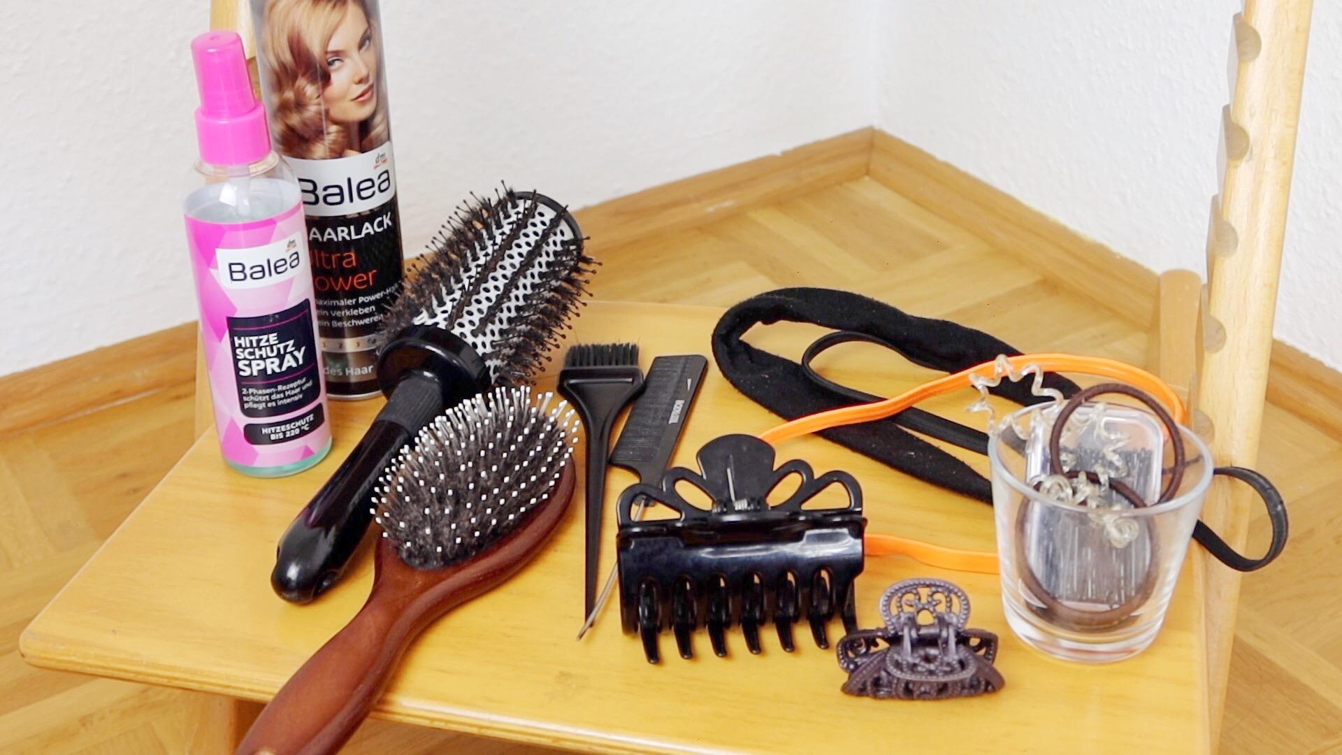 Aufgebraucht & minimalistische Schminksammlung_Haarprodukte