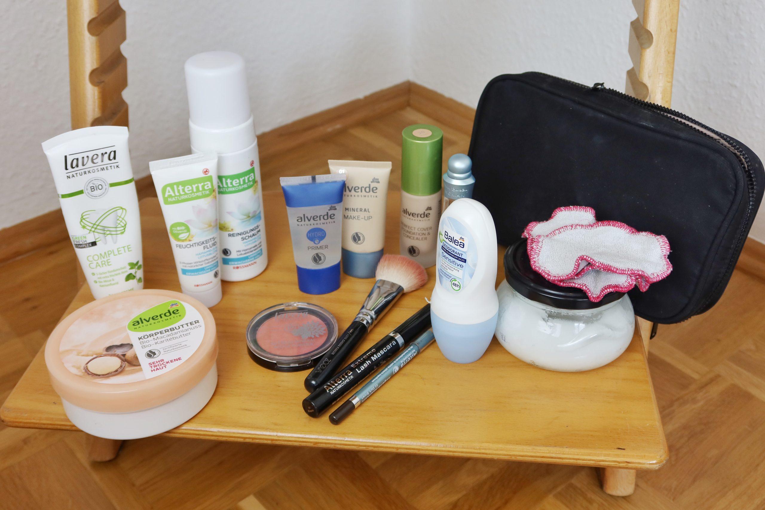 Aufgebraucht & minimalistische Schminksammlung_Make-up