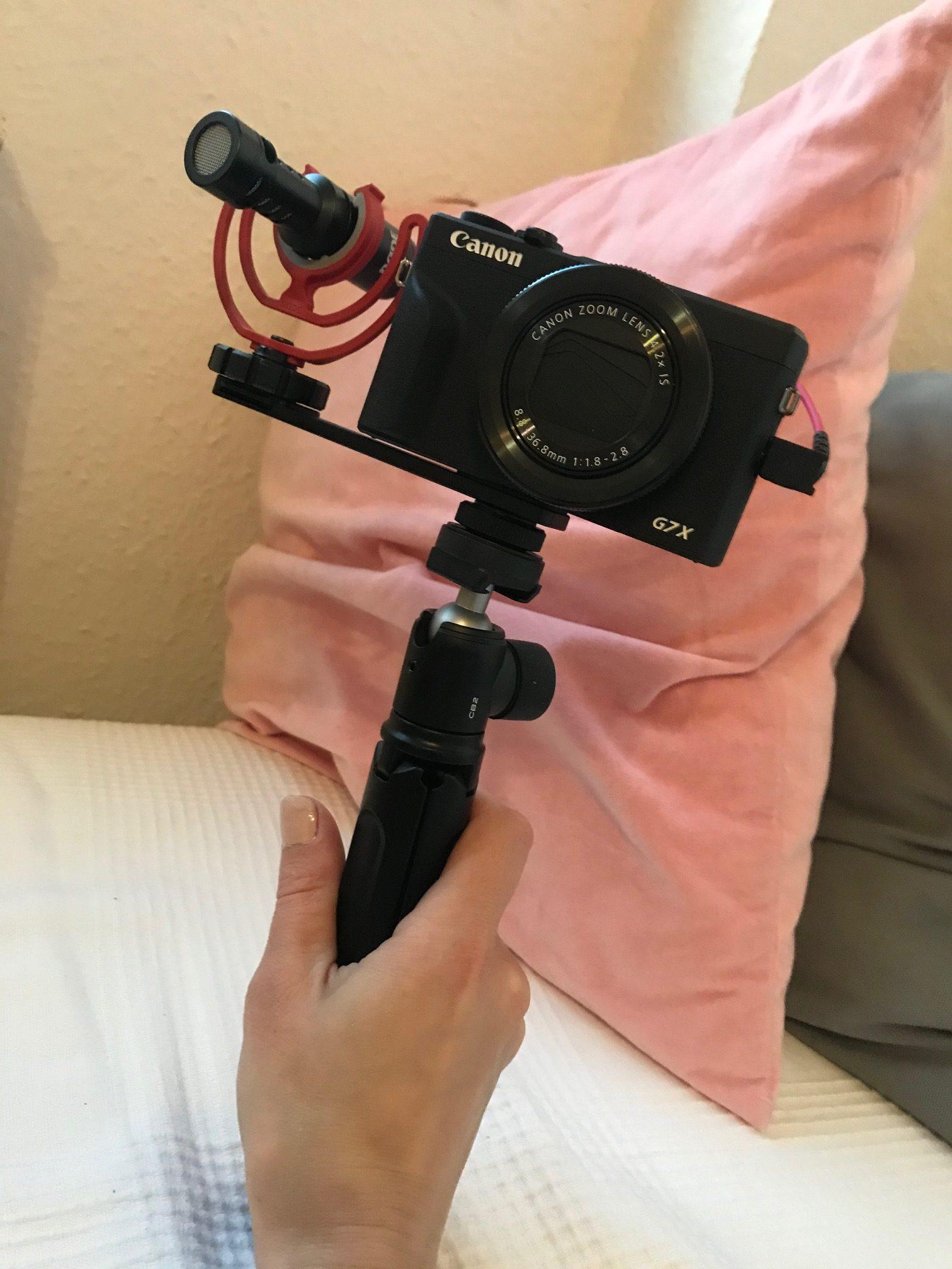 Neue Kamera Canon Powershot G7X gekauft während der Low Buy Challenge