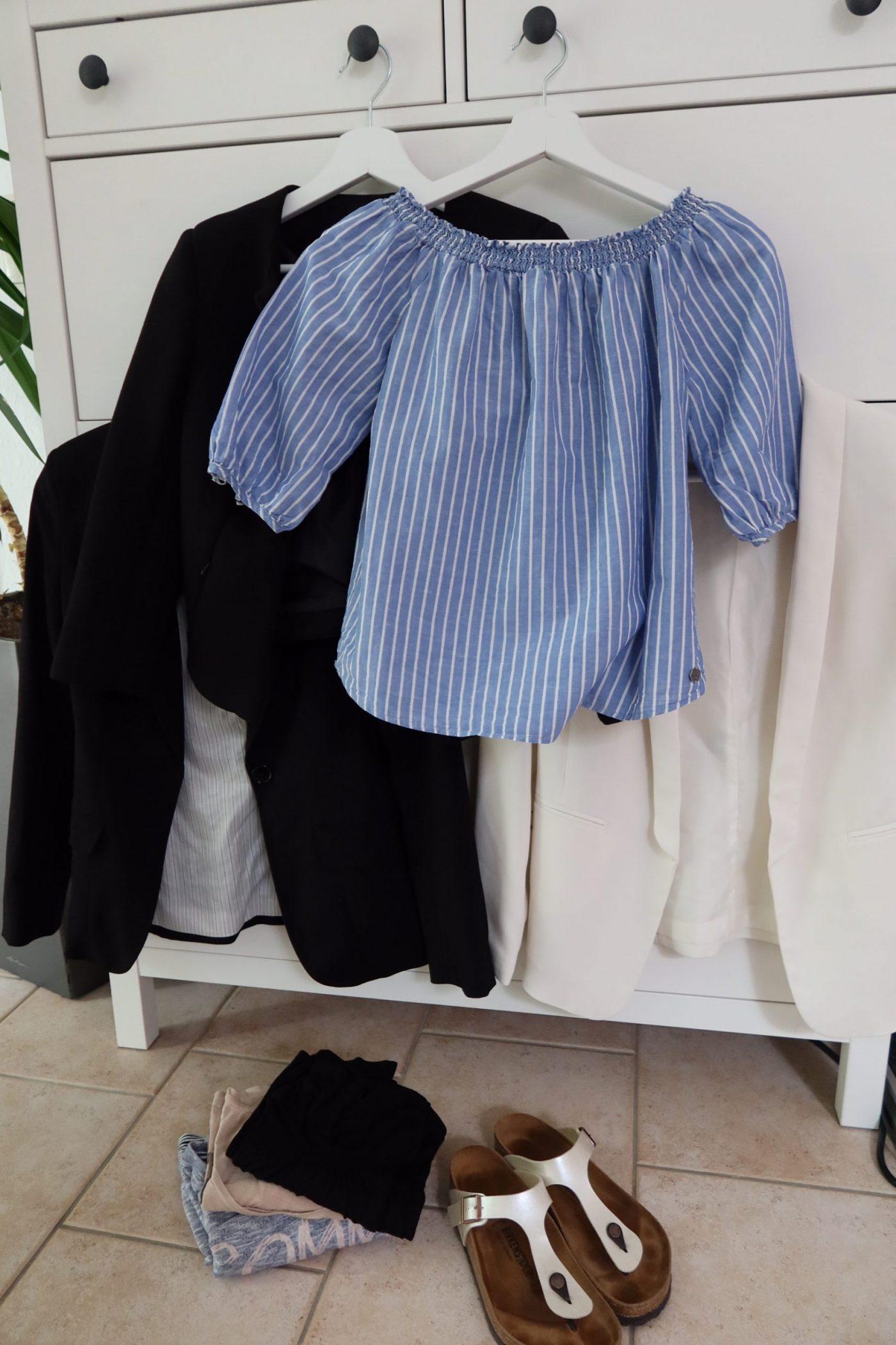 Gekaufte Kleidung während des 3. Updates der Low Buy Challenge