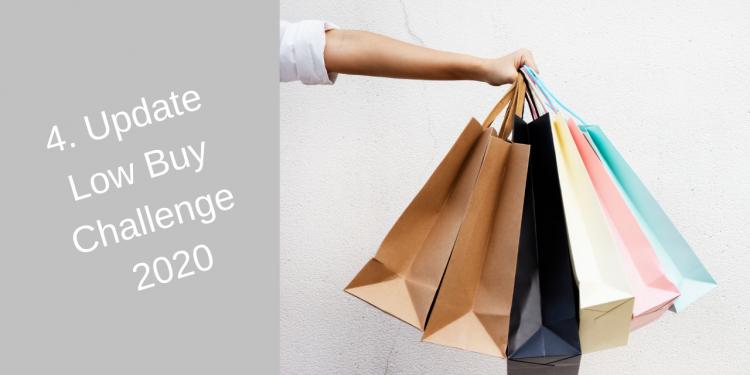 4. Update Low Buy Challenge 2020