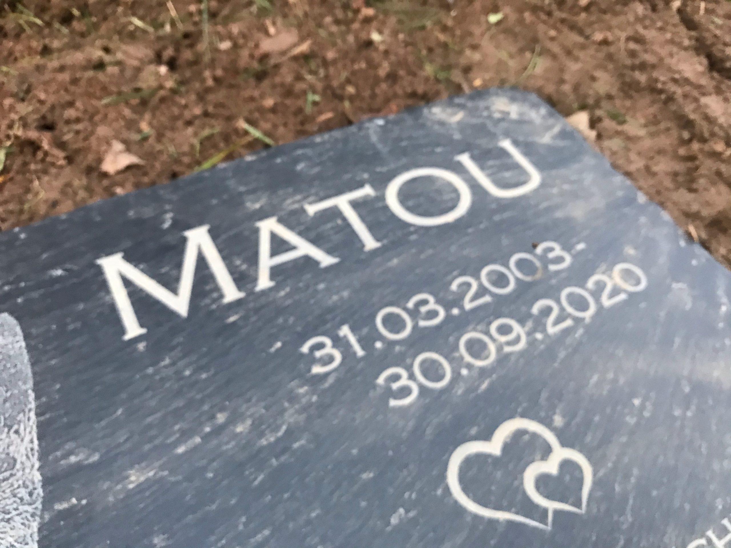 Grabstein Matour- persönlicher Jahresrückblick
