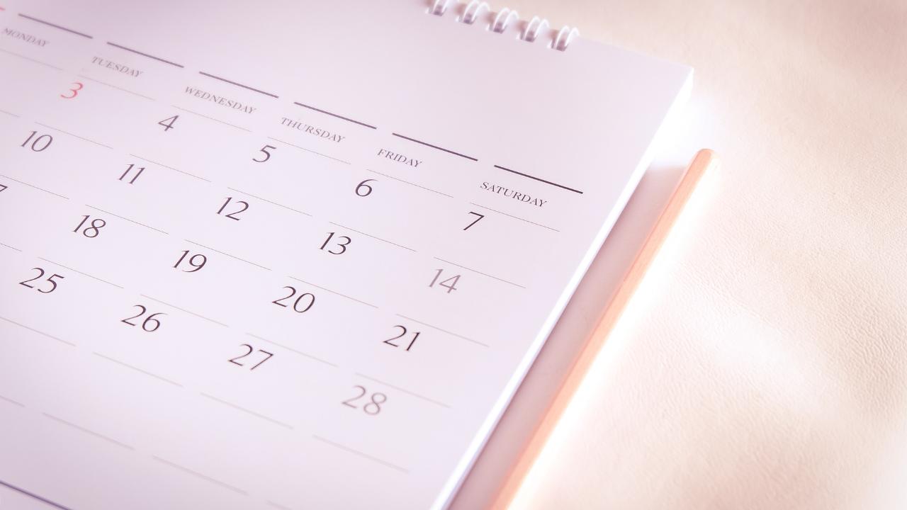 Gesunde produktivität_Wochenplanung