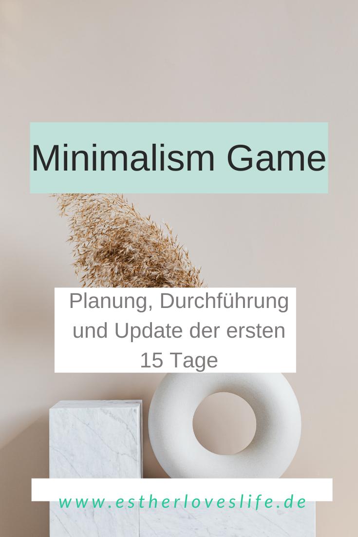 Update Minimalism Game_die ersten 15 Tage