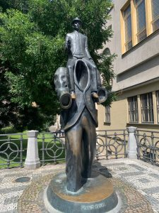 Monatsfazit- Kafka- Prag