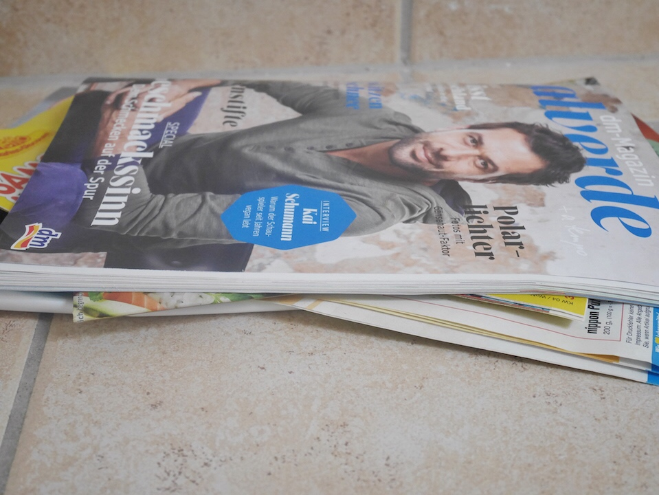 Papiermüll Zeitschriften