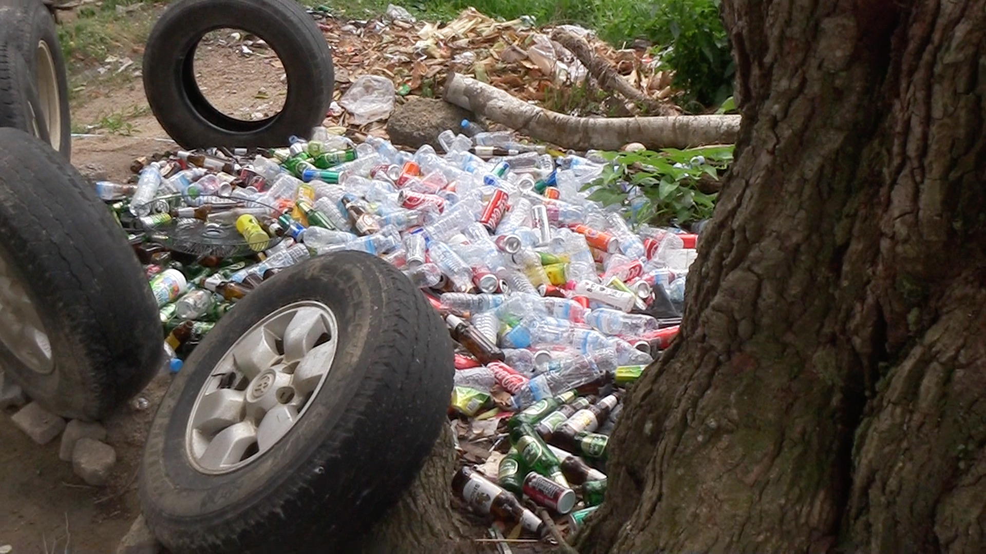 Plastikmüll auf Kho Phangan