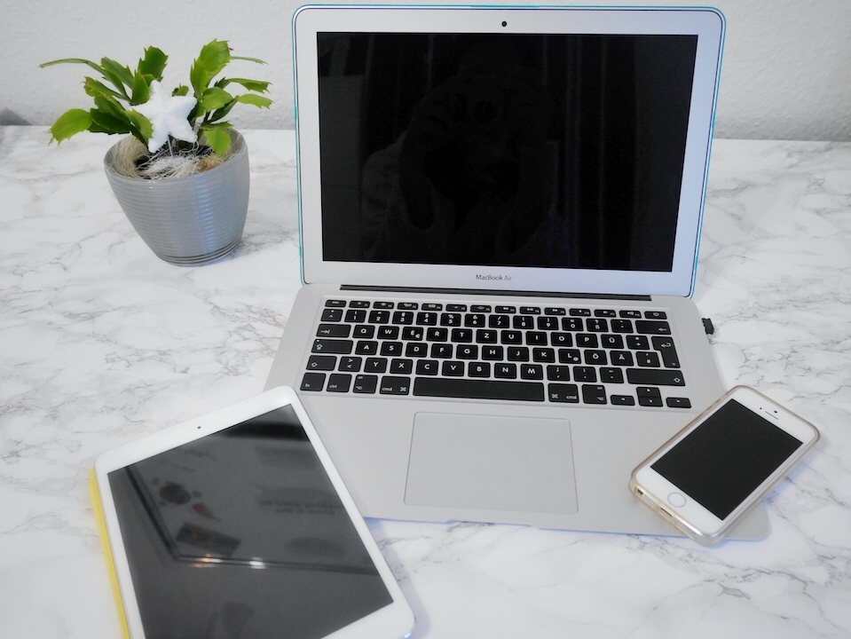 Produktivität steigern durch digitalen Minimalismus- Geräte digitale Medien